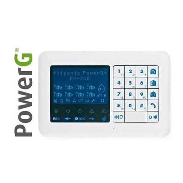 לוח מקשים אלחוטי KP-250 PG2